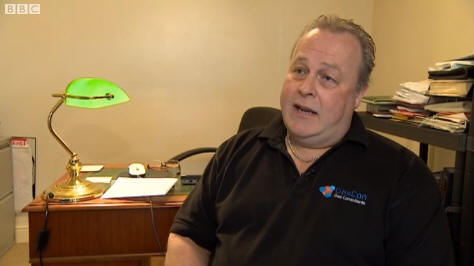 BBC Interview Simon Fisher Gas Consultant